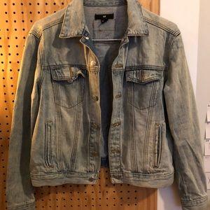 H&M Light Denim Jacket Sz 6